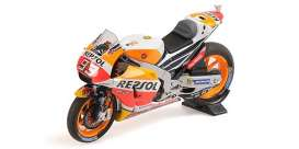 Honda  - RC213V 2017 red/yellow/orange - 1:18 - Minichamps - 182171193 - mc182171193 | Tom's Modelauto's