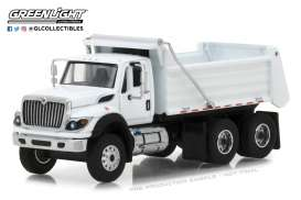 International  - WorkStar Construction Truck 2018 white - 1:64 - GreenLight - gl45040A | Tom's Modelauto's