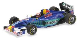 Sauber Ferrari - C16 1997 blue/purple/green - 1:43 - Minichamps - 417970016 - mc417970016 | Tom's Modelauto's