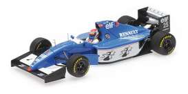 Ligier Renault - JS39B 1994 blue/white/black - 1:43 - Minichamps - 417940025 - mc417940025 | Tom's Modelauto's