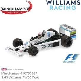 Williams Ford - FW06 1979 white/green/black - 1:43 - Minichamps - 410790027 - mc410790027 | Tom's Modelauto's