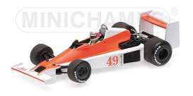 Williams Ford - FW06 1979 white/orange - 1:43 - Minichamps - 410790049 - mc410790049 | Tom's Modelauto's