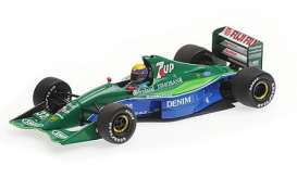Jordan Ford - 191 1991 blue/green - 1:43 - Minichamps - mc410910232 | Tom's Modelauto's