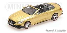 Brabus Mercedes Benz - 2016 gold - 1:43 - Minichamps - 437034234 - mc437034234 | Tom's Modelauto's