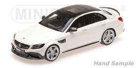 Brabus Mercedes Benz - 2015 white - 1:43 - Minichamps - 437036104 - mc437036104 | Tom's Modelauto's
