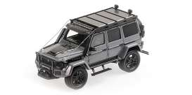 Brabus  - 550 2017 grey - 1:43 - Minichamps - 437037160 - mc437037160 | Toms Modelautos
