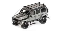 Brabus  - 550 2017 light grey - 1:43 - Minichamps - 437037161 - mc437037161 | Tom's Modelauto's
