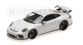 Porsche  - 911 GT3 2017 white - 1:43 - Minichamps - 410066025 - mc410066025 | Toms Modelautos