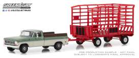 Ford  - F 100 1969  - 1:64 - GreenLight - 32150A - gl32150A | Tom's Modelauto's