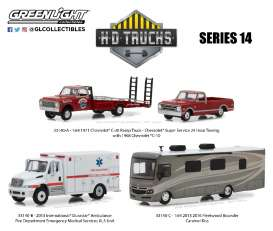 Assortment/ Mix  - various - 1:64 - GreenLight - 33140 - gl33140 | Tom's Modelauto's
