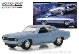 Chevrolet  - Camaro 1969  - 1:64 - GreenLight - 29976 - gl29976 | Tom's Modelauto's