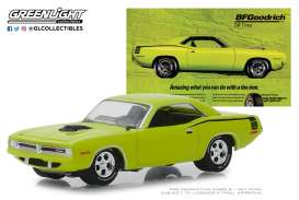Plymouth  - Hemi Cuda 1970 yellow - 1:64 - GreenLight - 29977 - gl29977 | Tom's Modelauto's