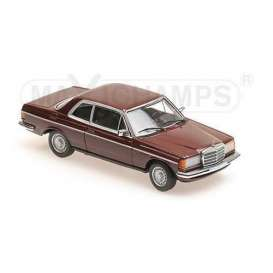 Mercedes Benz  - 230CE 1976 red - 1:43 - Maxichamps - 940032221 - mc940032221 | Tom's Modelauto's