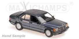 Mercedes Benz  - 190E 1984 white - 1:43 - Maxichamps - 940034101 - mc940034101 | Toms Modelautos