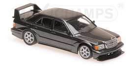 Mercedes Benz  - 190E 2.5-16 EVO2 1990 blue-black metallic - 1:43 - Maxichamps - 940923400 - mc940923400 | Tom's Modelauto's