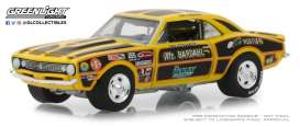 Chevrolet  - Camaro 427 Mr. Bardahl II 1967 yellow/black - 1:64 - GreenLight - 29987 - gl29987 | Tom's Modelauto's