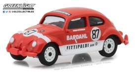 Volkswagen  - Beetle #87 *Bardahl* 1967 red/white - 1:64 - GreenLight - 29988 - gl29988 | Tom's Modelauto's