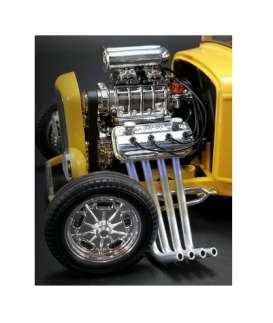 Engine  - chrome - 1:18 - Acme Diecast - acme180501E | Tom's Modelauto's