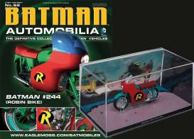 Batman  - red/blue - 1:43 - Magazine Models - magBAT-62 | Tom's Modelauto's