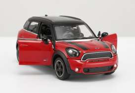 Mini  - Cooper S Countryman red - 1:24 - Rastar - rastar56400r | Tom's Modelauto's