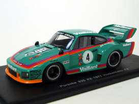 Porsche  - 935 K2 1977 green/orange - 1:43 - Spark - KBS053 - spaS053 | Tom's Modelauto's