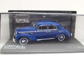 Opel  - Admiral 1937 blue - 1:43 - Magazine Models - MagOpe86 | Tom's Modelauto's