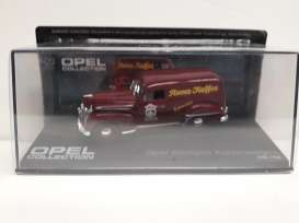Opel  - Kastenwagen brown - 1:43 - Magazine Models - Ope88 - MagOpe88 | Tom's Modelauto's