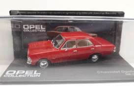 Chevrolet  - Opala red - 1:43 - Magazine Models - MagOpe107 | Tom's Modelauto's