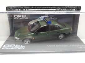 Opel  - Omega *Polizei* green - 1:43 - Magazine Models - Ope113 - MagOpe113 | Tom's Modelauto's