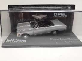 Opel  - Rekord A Cabriolet 1963 silver - 1:43 - Magazine Models - Ope122 - MagOpe122 | Toms Modelautos