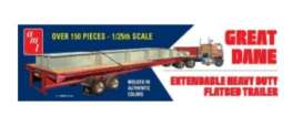 Great Dane  - Extendable Flatbed  - 1:25 - AMT - s1111 - amts1111 | Tom's Modelauto's
