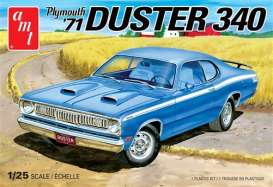 Plymouth  - Duster 340 1971  - 1:25 - AMT - s1118 - amts1118 | Tom's Modelauto's