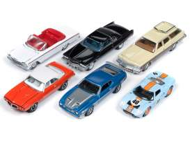 Assortment/ Mix  - various - 1:64 - Auto World - 64192A - AW64192A | Tom's Modelauto's