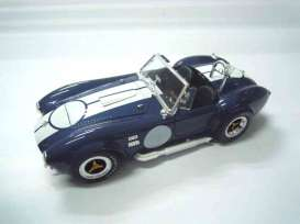 Shelby Cobra - 1965 blue/white - 1:18 - Shelby Collectibles - shelby121-1 | Tom's Modelauto's