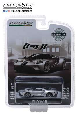 Ford  - GT 2017 silver - 1:64 - GreenLight - 29992 - gl29992 | Tom's Modelauto's