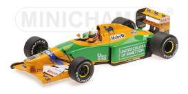 Benetton Ford - B192 1992 green/yellow - 1:18 - Minichamps - 110920020 - mc110920020 | Tom's Modelauto's