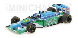 Benetton Ford - B194 1994 green/blue - 1:43 - Minichamps - 517940405 - mc517940405 | Tom's Modelauto's