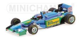 Benetton Ford - B194 1994 green/blue - 1:43 - Minichamps - 517941605 - mc517941605 | Tom's Modelauto's