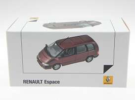Renault  - 1992 malaga red metallic - 1:43 - Norev - nor7711575953 | Tom's Modelauto's
