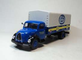 Magirus Deutz  - blue/white/yellow - 1:43 - Magazine Models - magTRUmagirus | Tom's Modelauto's