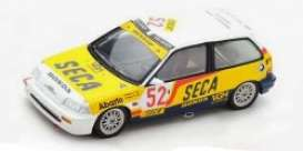 Honda  - Civic EF3 1989 white/yellow/black - 1:43 - Spark - sb136 - spasb136 | Toms Modelautos