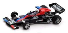 Shadow  - DN5B 1976 black/white/red/blue - 1:43 - Spark - S3840 - spaS3840 | Tom's Modelauto's