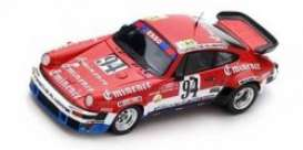 Porsche  - 934 1980 black/red/white - 1:43 - Spark - s5094 - spas5094 | Toms Modelautos