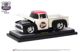 Ford  - F-100 1956 white/red/black - 1:24 - M2 Machines - M2-40300-66B | Tom's Modelauto's