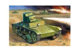 Military Vehicles  - T-26 Flamethrower  - 1:35 - Zvezda - zve3540 | Tom's Modelauto's