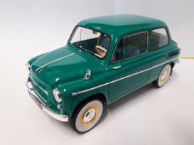 ZAZ  - 965AE 1963 turquoise - 1:18 - Premium Scale Models - PSM18001A | Toms Modelautos
