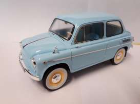 ZAZ  - 1963 light blue - 1:18 - Premium Scale Models - PSM18002A | Tom's Modelauto's
