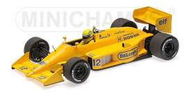 Lotus Honda - 99T 1987 yellow - 1:18 - Minichamps - 540871892 - mc540871892 | Tom's Modelauto's