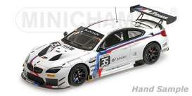 BMW  - M6 GT3 2017 white/black/blue/red - 1:43 - Minichamps - 437172635 - mc437172635 | Toms Modelautos
