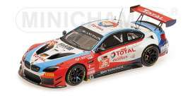 BMW  - M6 GT3 2017 red/white/blue - 1:43 - Minichamps - 437172636 - mc437172636 | Tom's Modelauto's